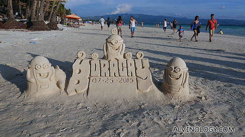 Get the experts to build sandcastles like this one here