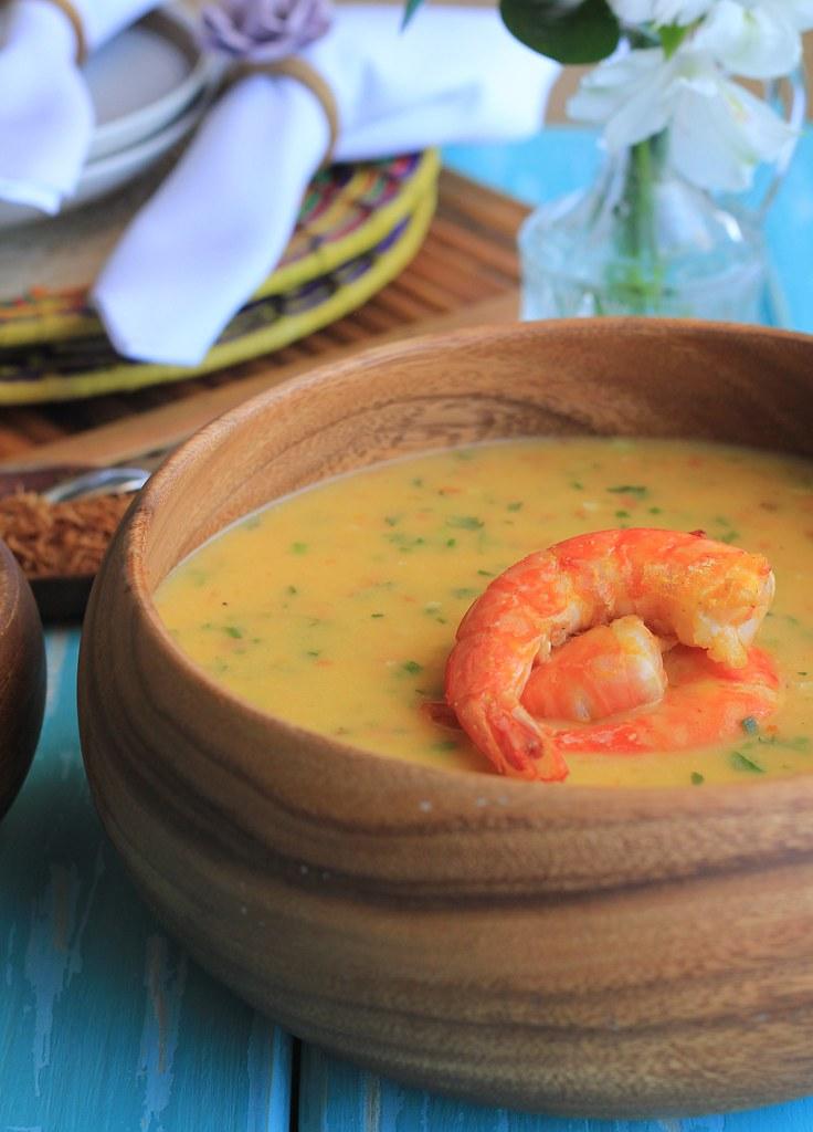 receita de camarão