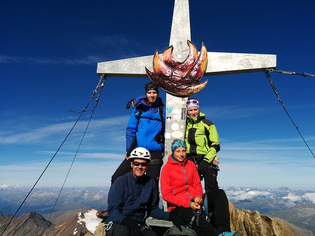 Gipfelkreuz Weißkugel 3.739 m