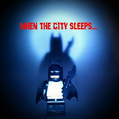 When the city sleeps...