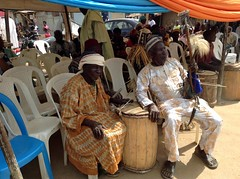 Gbagyi Traditional Musicians (Picture of The Week 08-14-2015)