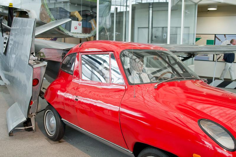Half car, half plane @ The Museum of Flight, Seattle, WA