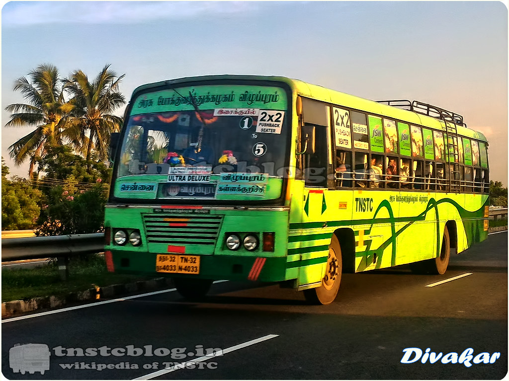 TN-32N-4033 of Kallakurichi 2 Depot Route Chennai - Kallakurichi 1 to 5 Ultra Deluxe