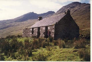 Ruined croft deep into Glen Moidart; Copyright Colin Adamson, licensed for reuse