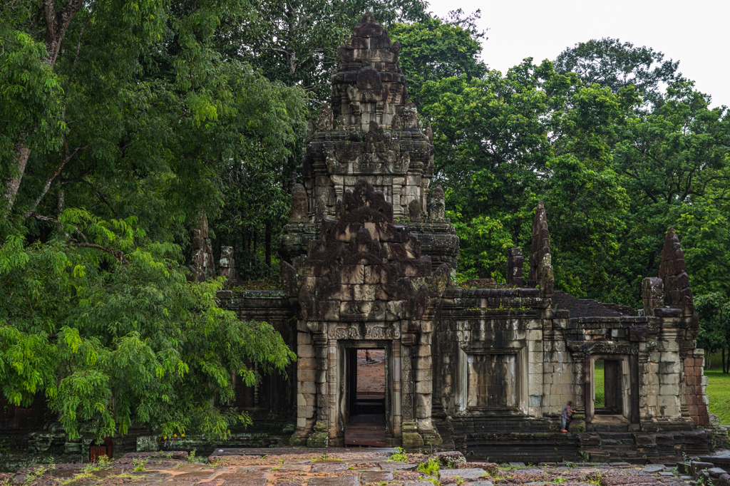 Angkor Thom Temple area in Siem Reap, Cambodia-2