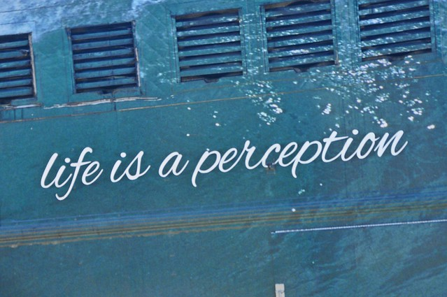 Life is a perception...