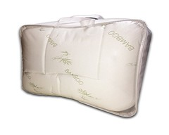 Extra Plush Bamboo Fitted Mattress Pad FREE FROM