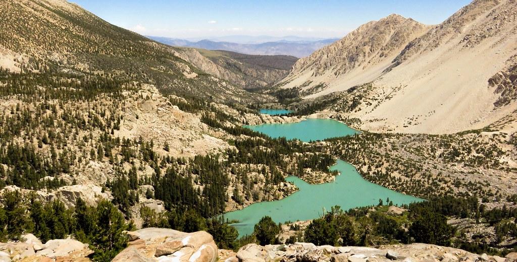 Lakes 1, 2, 3; John Muir Wilderness