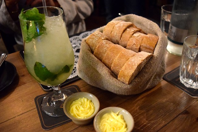 Bread Basket at The Scran and Scallie, Edinburgh | www.rachelphipps.com @rachelphipps