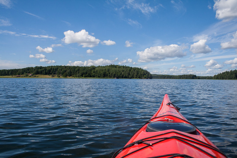 Kayaking in the Swedish archipelago