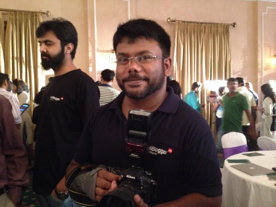 Rennie of Indiblogger - Berger Express Painting IndiBlogger Meet 2015 at The Oberoi Grand, Kolkata