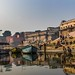 Early morning on the ghats by Karine_EyE