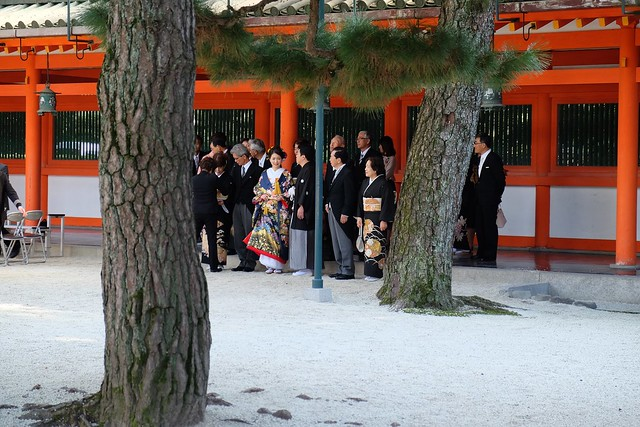 Wedding at Heian Shrine