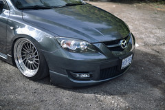 automobile, automotive exterior, wheel, vehicle, mazda, rim, bumper, mazdaspeed3, land vehicle,
