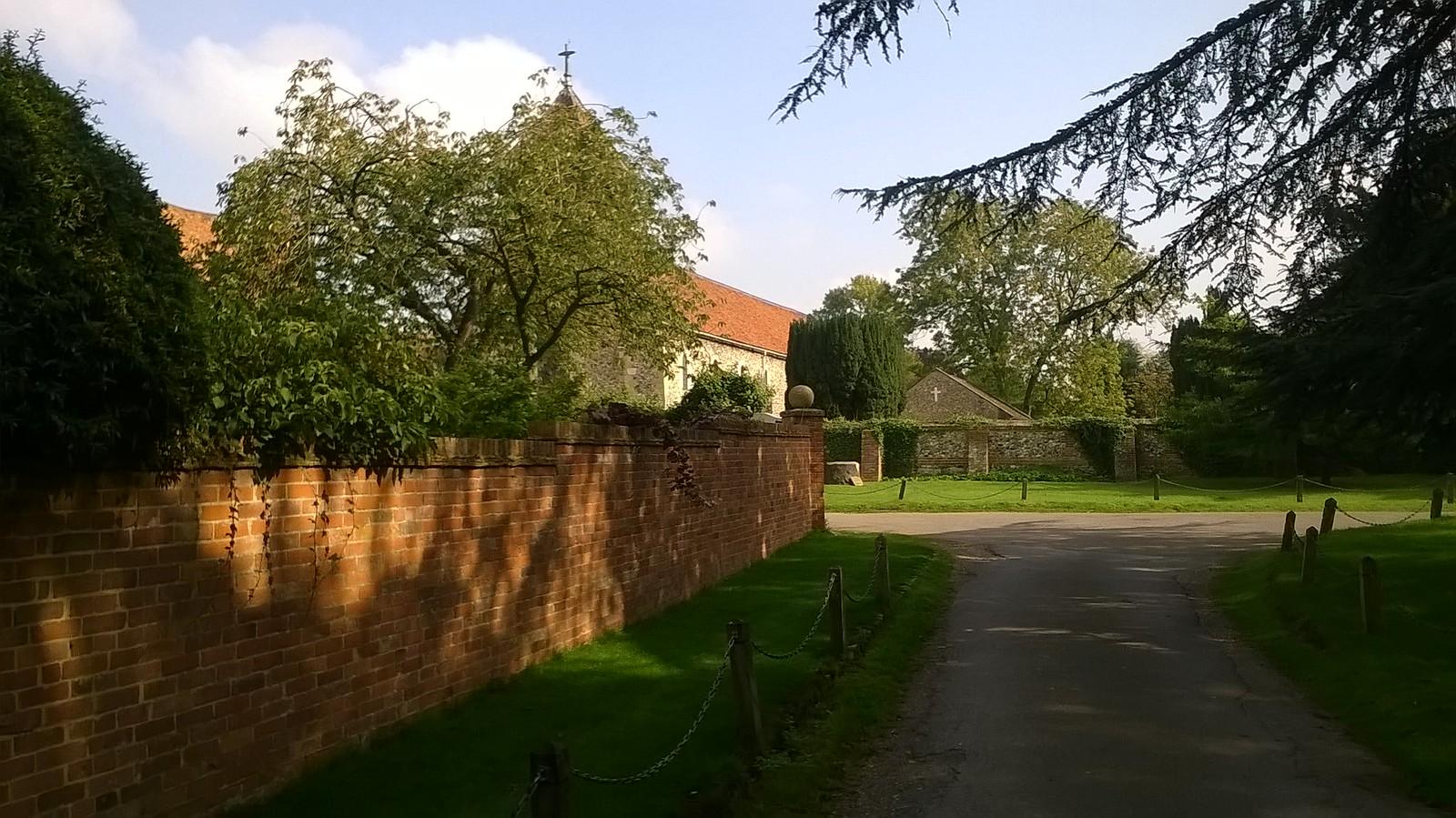 Village scene Hurley