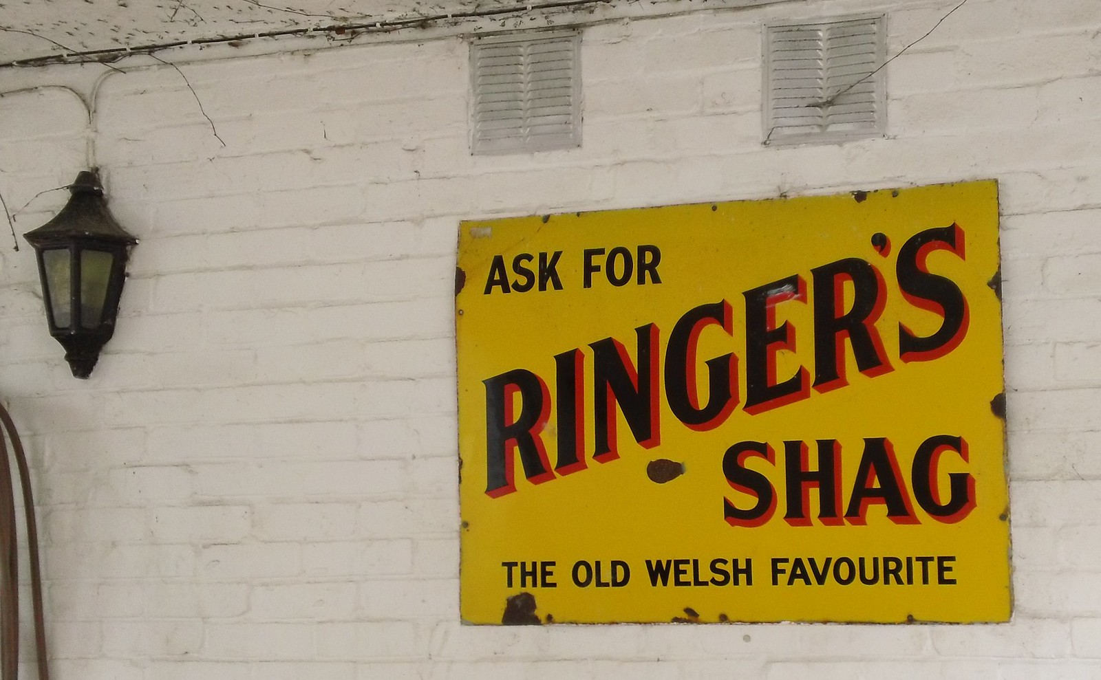 'Old Welsh Favourite' Don't ask! Rising Sun inn.