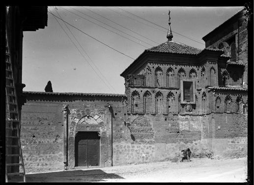 Palacio de Inés de Ayala en Santa Isabel, Toledo hacia 1920. Fotografía de Enrique Guinea Maquíbar © Archivo Municipal de Vitoria-Gasteiz