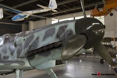 Red 3 - 163306 - Luftwaffe - Messerschmitt Bf109 G-6 - Polish Aviation Musuem - Krakow, Poland - 151010 - Steven Gray - IMG_0005
