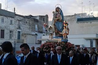 Noicattaro. Madonna del Rito 2015 front