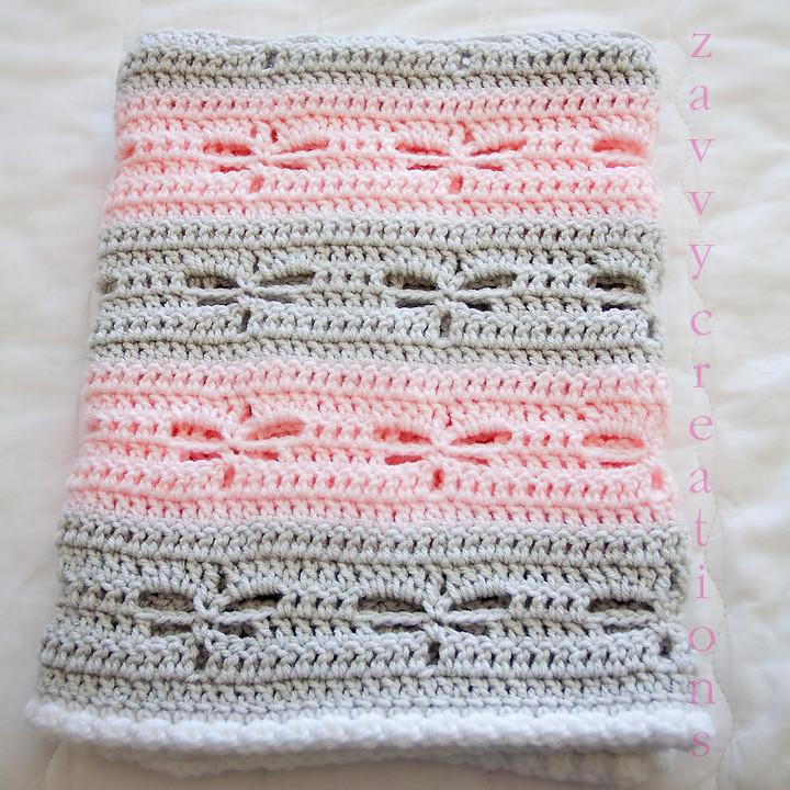 Dragonfly Blanket - Folded