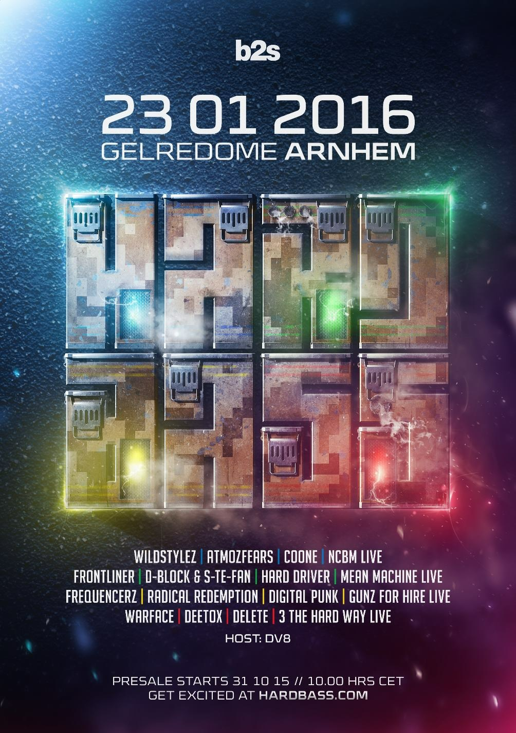 cyberfactory 2013 b2s hard bass gelredome arnhem holland