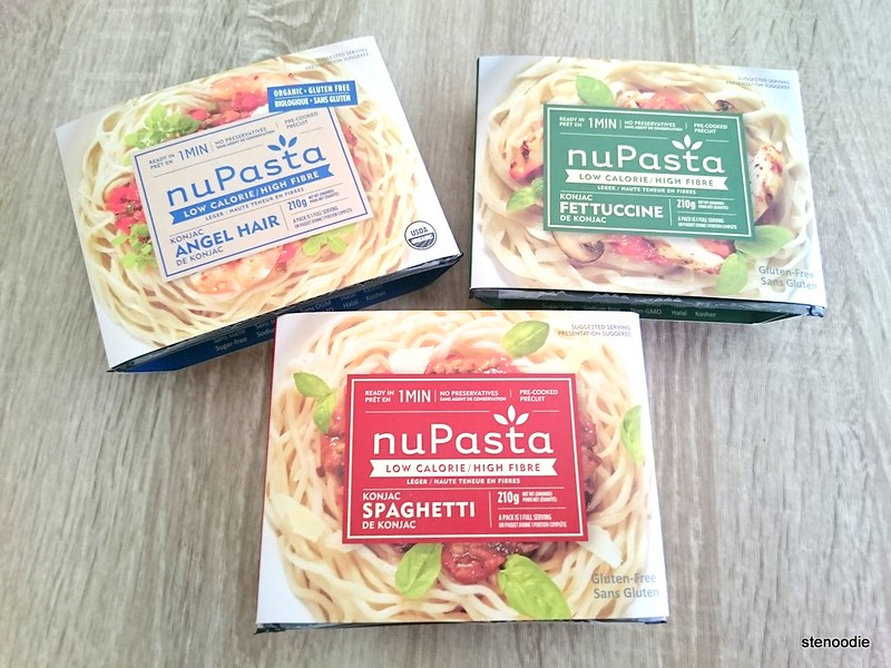 three types of NuPasta