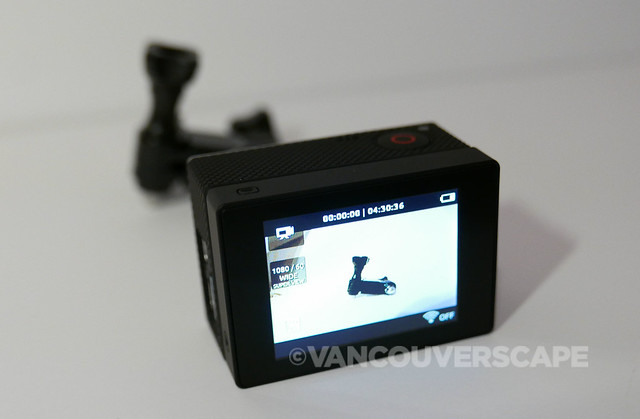 GoPro HERO 3+ with LCD Touch BacPac