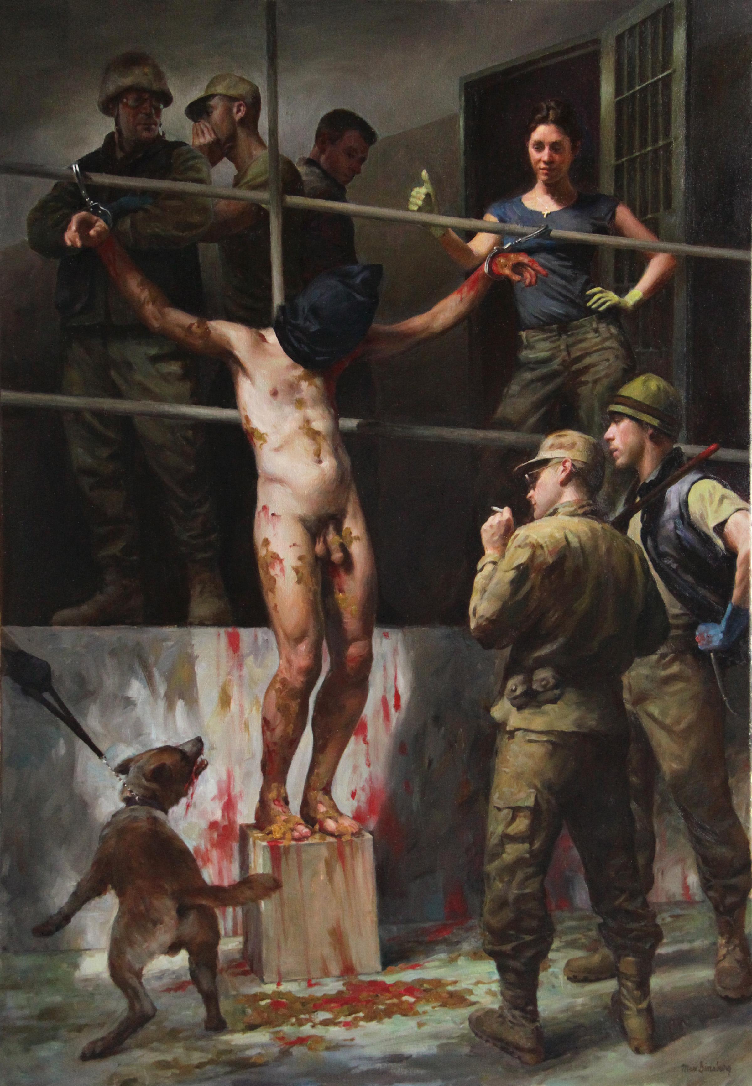 Связанные мужики и пытки над ними 25 фотография