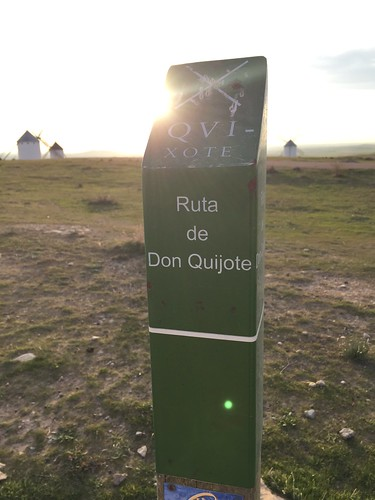 Don Quixote country, Campo la Criptana, La Mancha, Spain