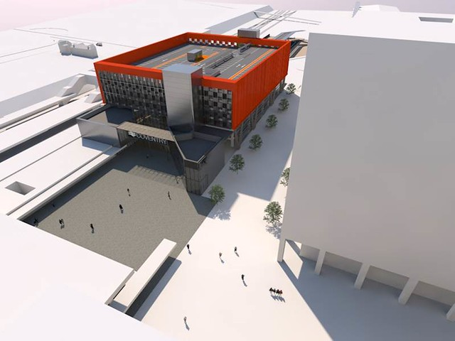 Coventry Rail Station Masterplan