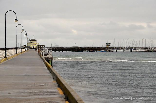Pier at St. Kilda Beach