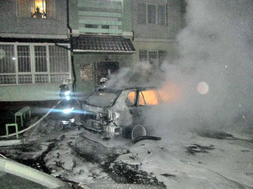 Спаслене авто БМВ