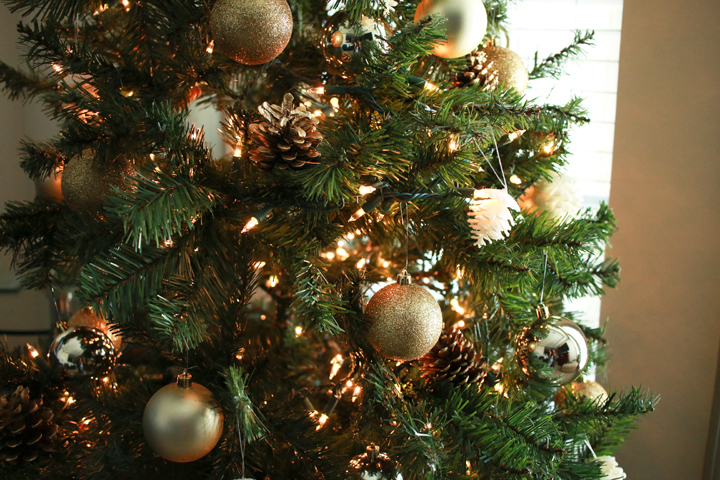 small white pine cone ornaments target 5 large gold ball ornaments target 15 gold star tree topper target 10 pine cones found outside