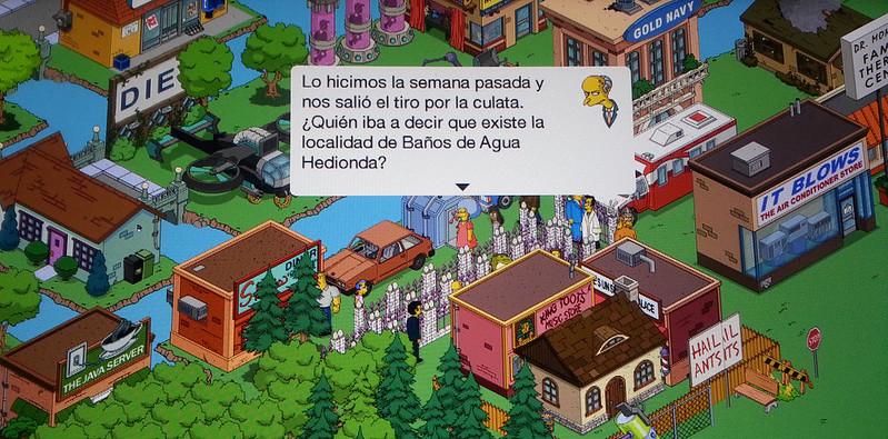 Simpsons Y Baños de Agua Hedionda