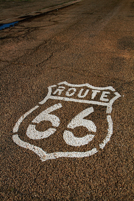 Route 66 on Road