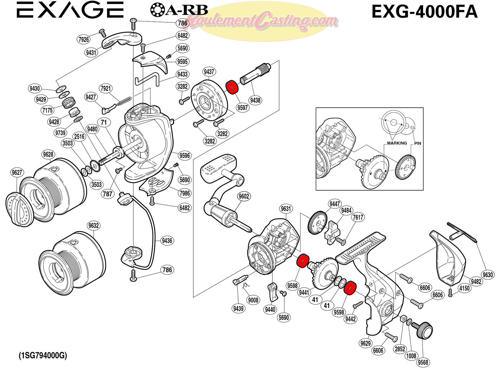 Schema-Shimano-EXAGE-4000FA