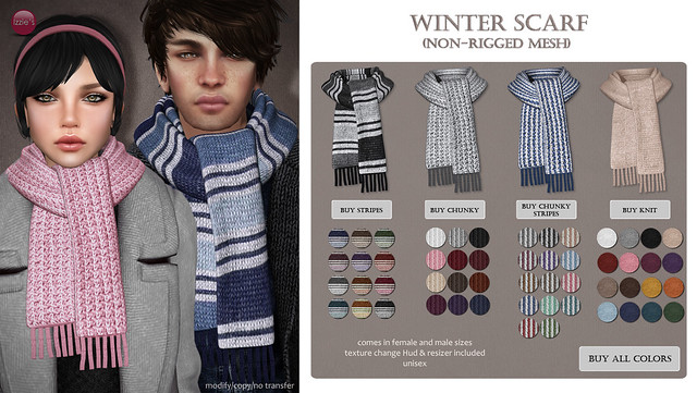 Winter Scarf (GEN-Neutral)