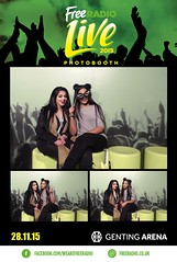 Free Radio Live Photobooth 2015