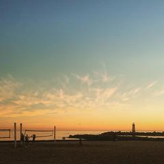 Santa Cruz sunset (post-beachside-margarita)