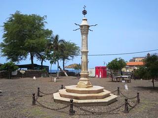 Image of Pelourinho. santiago cidade verde island velha cape pelourinho pillery