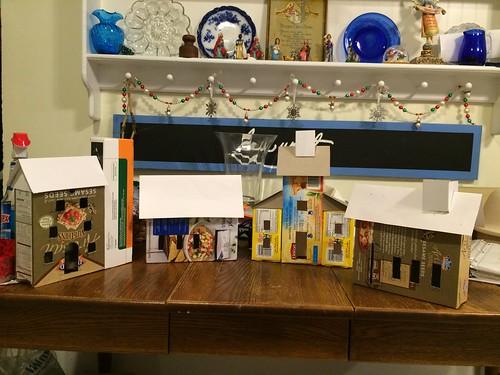 Making large Putz houses