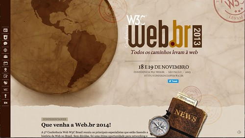 Capa do site da Conferencia Web 2015