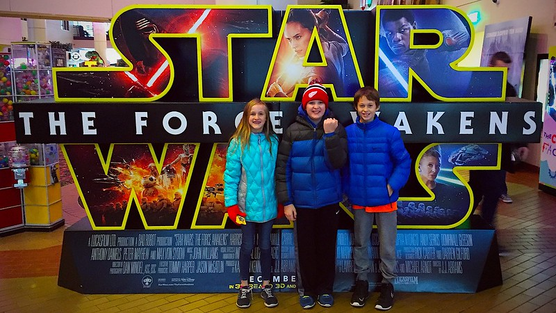 day 4195 - 359/365.  finally! star wars: the force awakens! I.