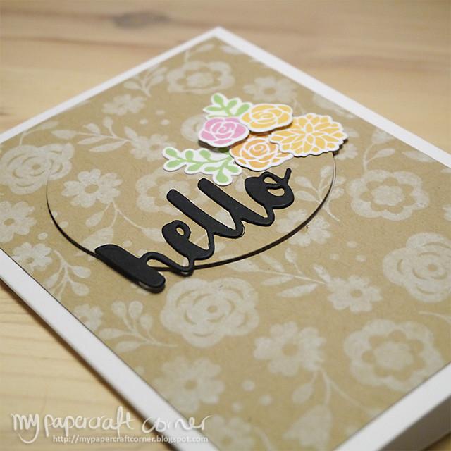 Hello card #397