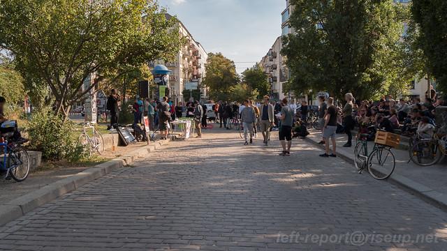 24.09.2016 - Kundgebung nach Nazi-Angriff im Mauerpark