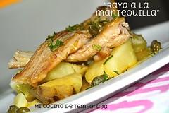 RAYA A LA MANTEQUILLA