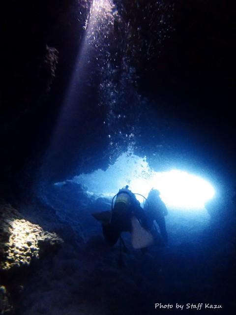 新しい洞窟発見♪ また行きたいですね!