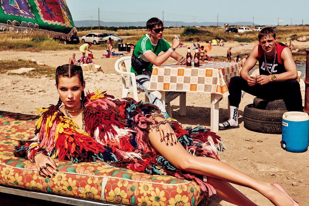 Белла Хадид — Фотосессия для «Vogue» JP 2016 – 1