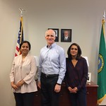 Meeting with the India Association of Western Washington