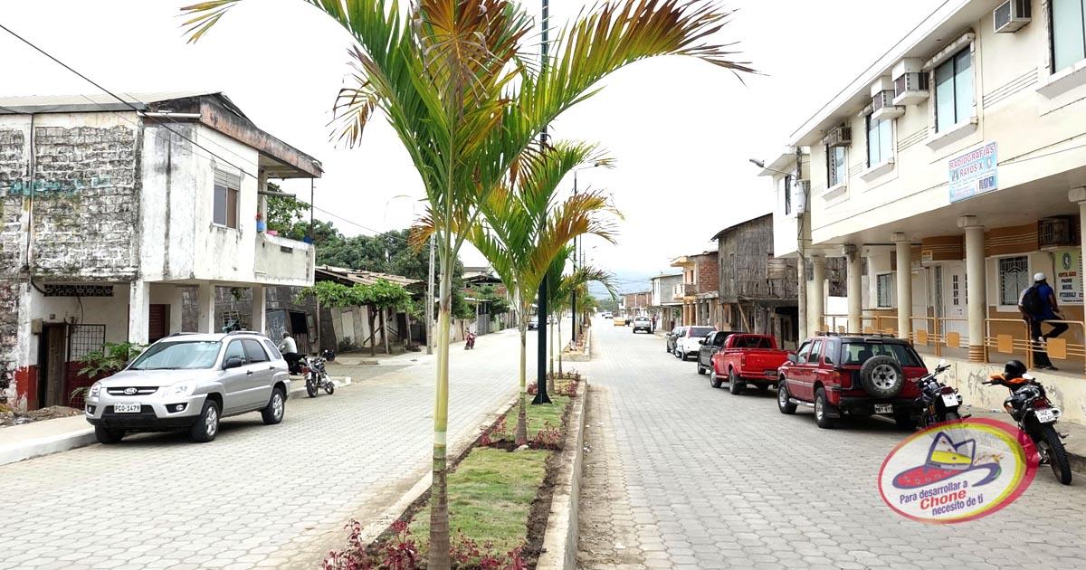 Calle Emilio Hidalgo construída el 99.9%